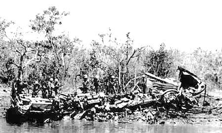 PCF 43 wreckage
