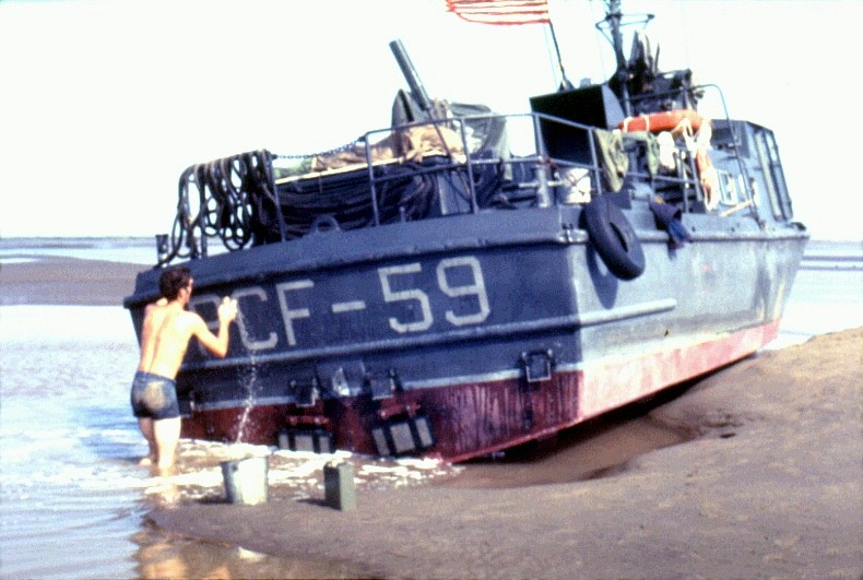 PCF 59 aground #1