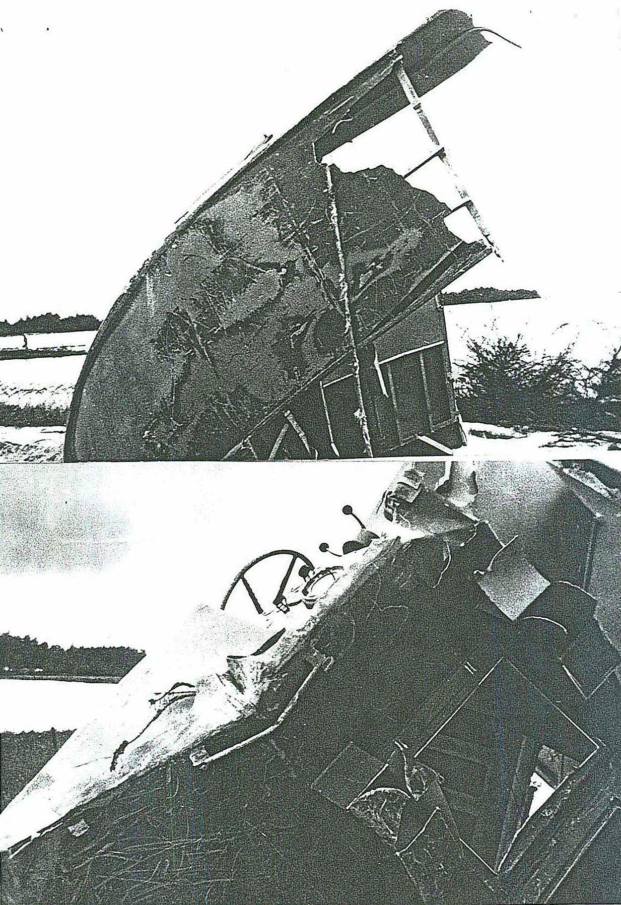 PCF 77 wreckage